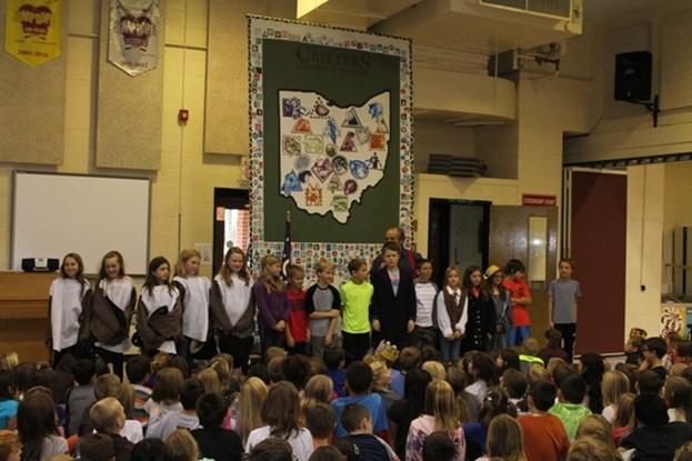 Author Rick Sowash Visits Munson Elementary 11/7/2014