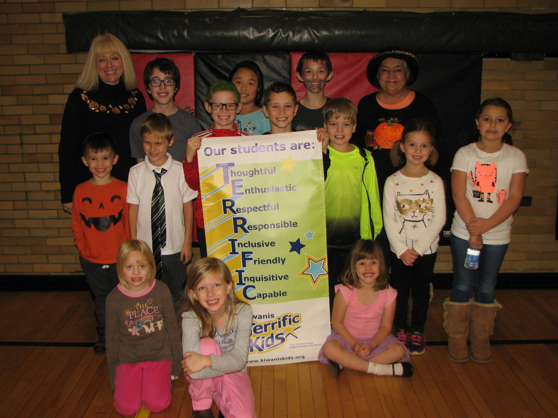 October Enthusiastic Terrific Kids