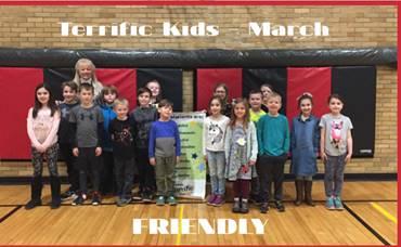"Terrific Kids - March ""Friendly"""