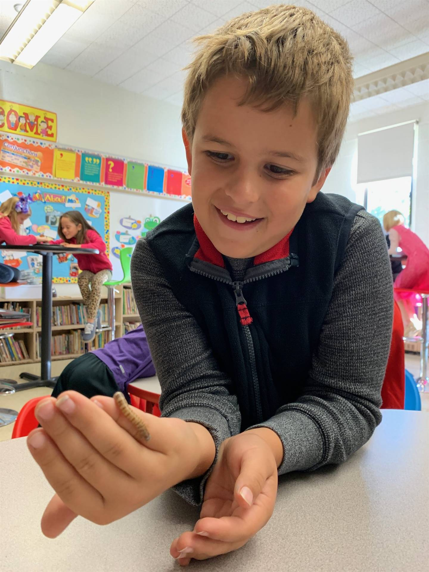 """Student Learning led by Mark """"The Bug Guy"""""""