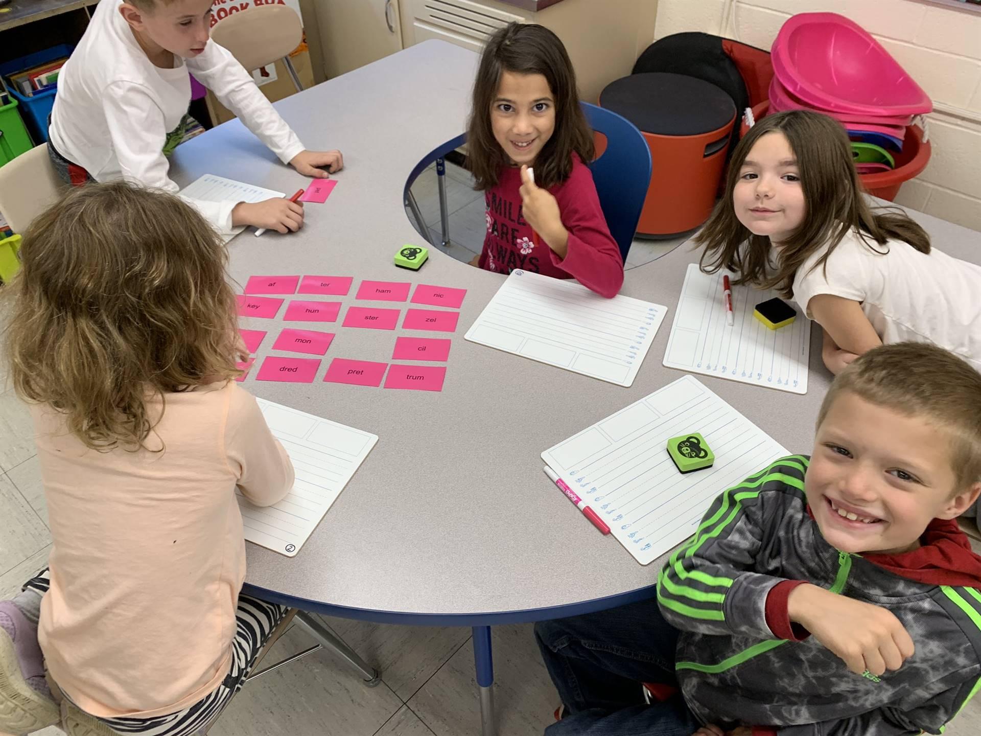 Fundations® - Mrs. Turk's 2nd-Grade Class - Fall 2019