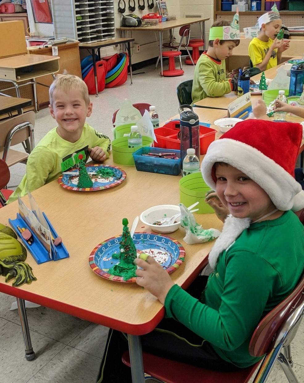Mrs. Kingzett's Kindergarten Class - Holiday Party 2019