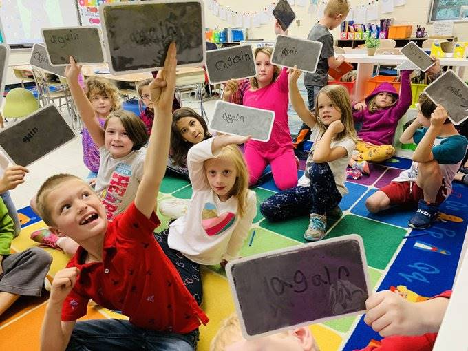 Fundations® in Mrs. Turk's 2nd-Grade Class - Fall 2019